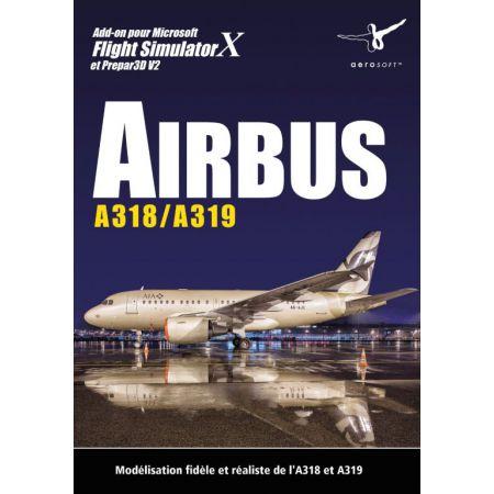 Jeu Pc - Airbus A318/A319 (extension Flight Simulator X)
