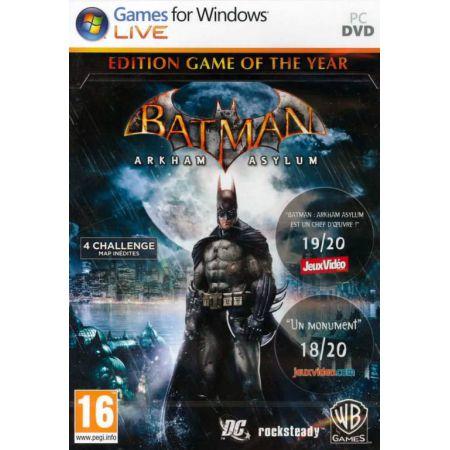 Jeu Pc - Batman Arkham Asylum Goty