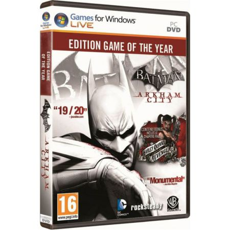 Jeu Pc - Batman Arkham City : Edition GOTY