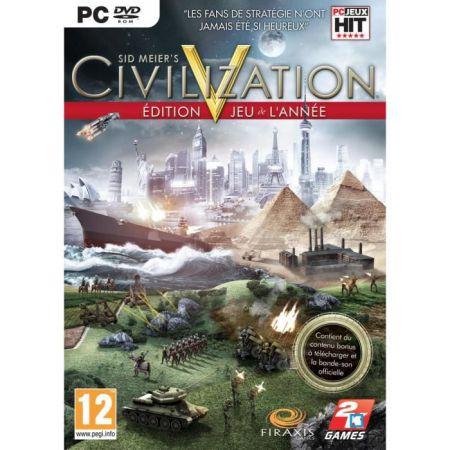 Jeu Pc - Civilization V (5) Edition GOTY