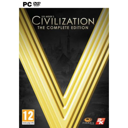 Jeu Pc - Civilization V (5) The Complete Edition
