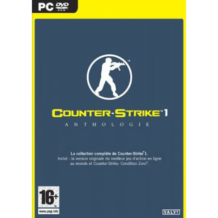 Jeu Pc - Counter Strike Anthologie