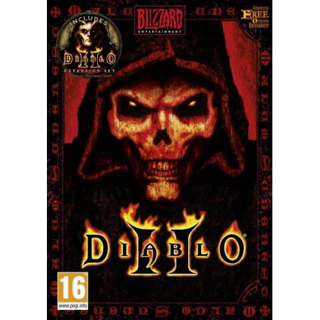 Jeu Pc - Diablo 2 Gold + Extension Lord Of Destruction