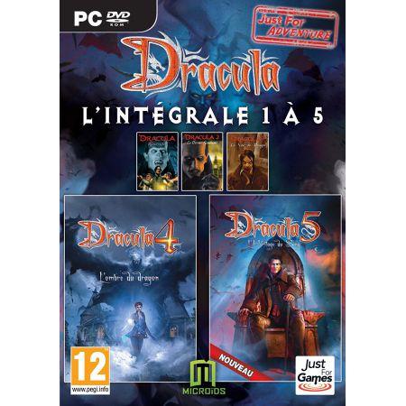 Jeu Pc - Dracula L'integrale 1 a 5