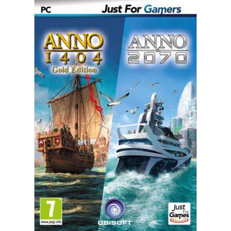 Jeu Pc - Dual Pack : Anno 1404 + Anno 2070 - JPC5892