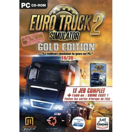 Jeu Pc - Euro Truck 2 Simulator Gold Edition