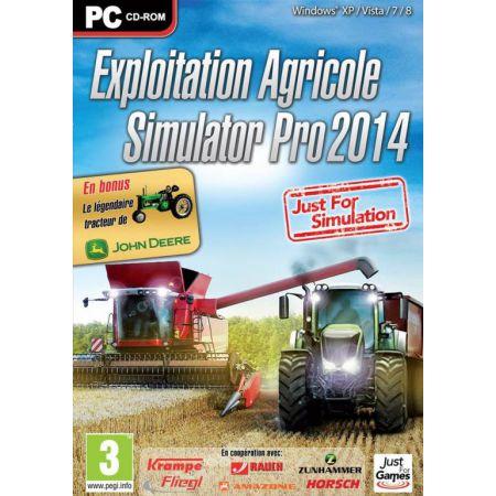 Jeu Pc - Exploitation Agricole Simulator Pro 2014