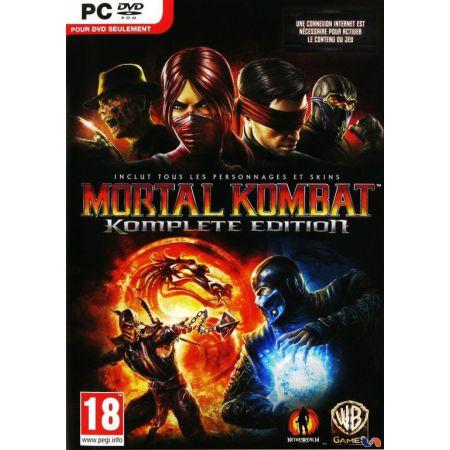 Jeu Pc - Mortal Kombat 9 : Komplete Edition