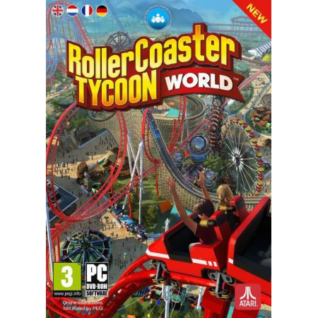 Jeu Pc - RCT : Rollercoaster - Roller Coaster Tycoon WORLD
