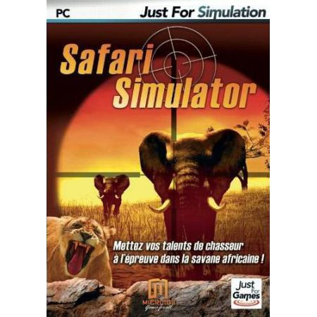 Jeu Pc - Safari Simulator