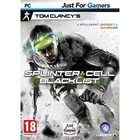 Jeu Pc - Splinter Cell Blacklist
