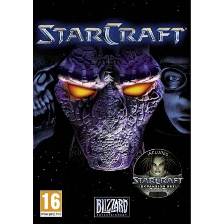 Jeu Pc - StarCraft Gold + Extension Brood War