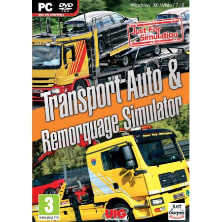 Jeu Pc - Transport Auto & Remorquage Simulator