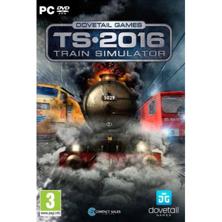 Jeu Pc - Ts 2016 : Train Simulator 16