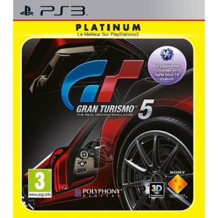 Jeu Ps3 - Gran Turismo 5 Platinum (GT5)