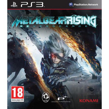 Jeu Ps3 - Metal Gear Rising : Revengeance
