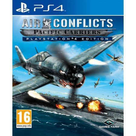 Jeu Ps4 - Air Conflicts : Pacific Carriers