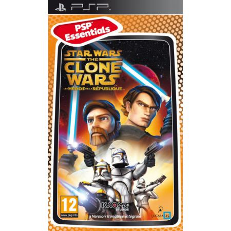 Jeu PSP - Star Wars The Clone Wars : Les Heros De La Republique 5disney)