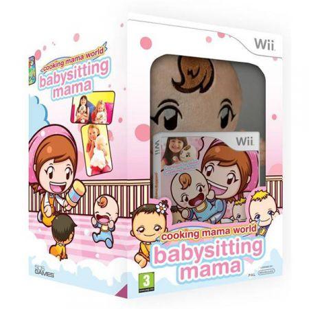 Jeu Wii - Cooking Mama World : Babysitting Mama + Poupon