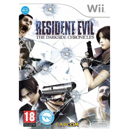 Jeu Wii - Resident Evil The Darkside Chronicles