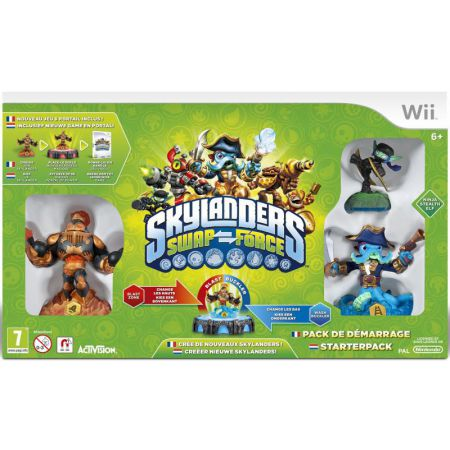 Jeu Wii - Skylanders : Swap Force - Pack De Démarage / Starter Pack