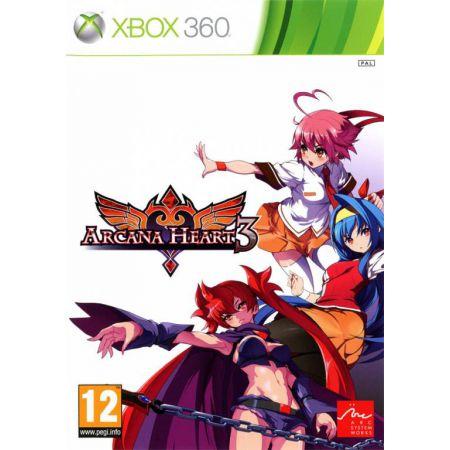 Jeu Xbox 360 - Arcana Heart 3