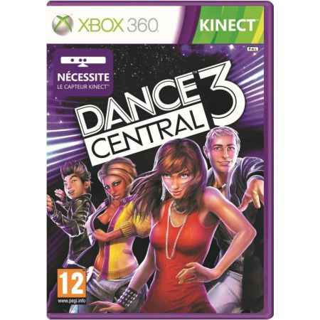 Jeu Xbox 360 - Dance Central 3 Edition Sp�ciale + 3 Chansons Bonus