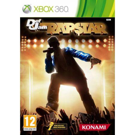 Jeu Xbox 360 - Def Jam Rapstar + Micro