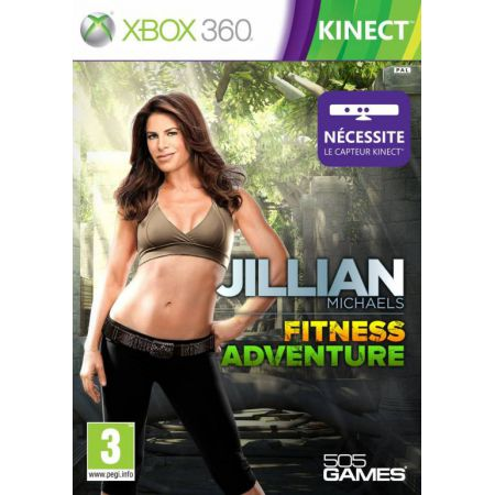 Jeu Xbox 360 - Jilian Michaels Fitness Adventures