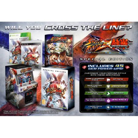 Jeu Xbox 360 - Street Fighter X Tekken Special Edition