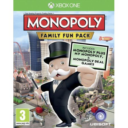 Jeu Xbox One - Monopoly : Family Fun Pack