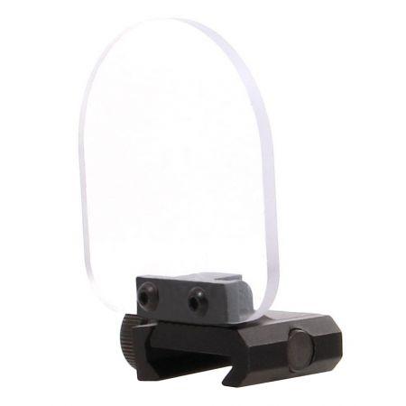 Lentille Verre De Protection Avec Support Flip Up Picatinny Pour Lunette De Visee & Red Dot - 263907