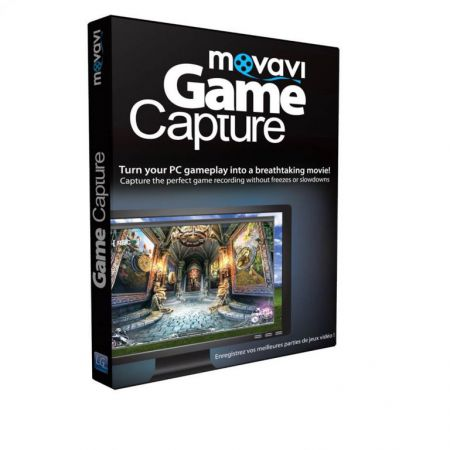 Logiciel Movavi Game Capture - JPC0387