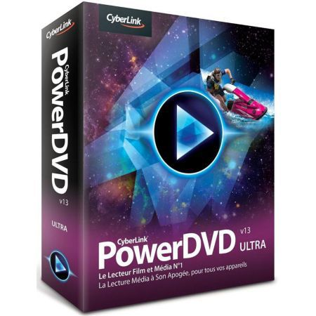 Logiciel PowerDVD 13 Ultra Power DVD - Cyberlink - JPC5415