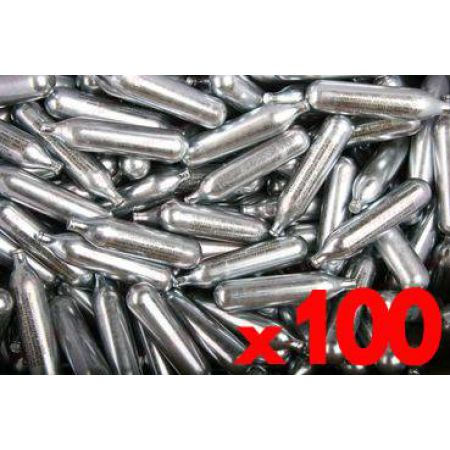 Lot 100 Cartouches Sparclettes Co2 Cybergun 12g