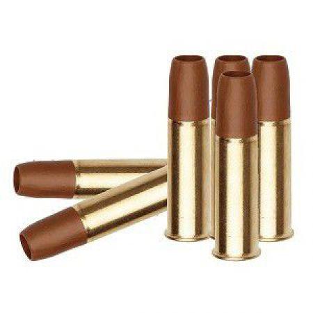 Lot 6 Douilles 6mm Cartouches Metal - KWC - Colt Python 357 Magnum - 185143