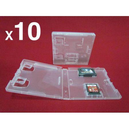 Lot de 10 Boitiers DS de Remplacement Pour Jeu Nintendo NDS GBA