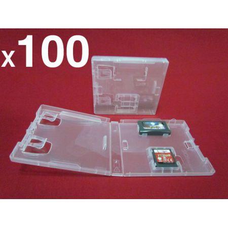 Lot de 100 Boitiers DS de Remplacement Pour Jeu Nintendo NDS GBA