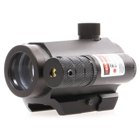 Lunette 1x25 - Point Rouge & Vert Red Green Dot + Laser - Delta Tactics