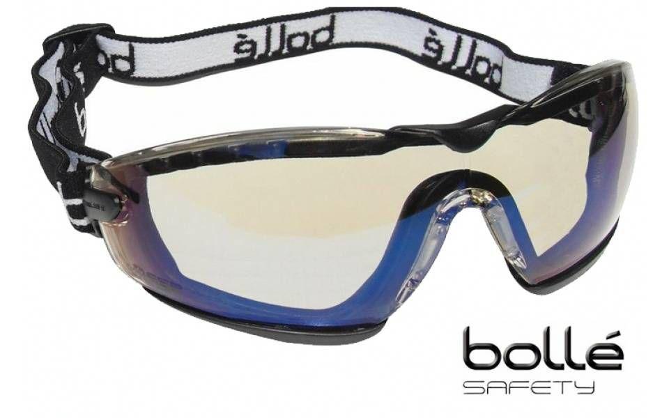 lunette masque de protection bolle safety cobra verres hd cobfsh. Black Bedroom Furniture Sets. Home Design Ideas