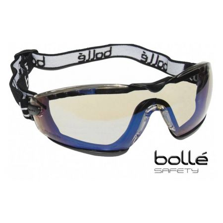 Lunette Masque De Protection Bolle Safety Cobra (Verres HD) - COBFSHDPI