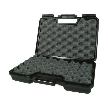 Malette Luxe Noire Pour Réplique De Poing 30x18x6