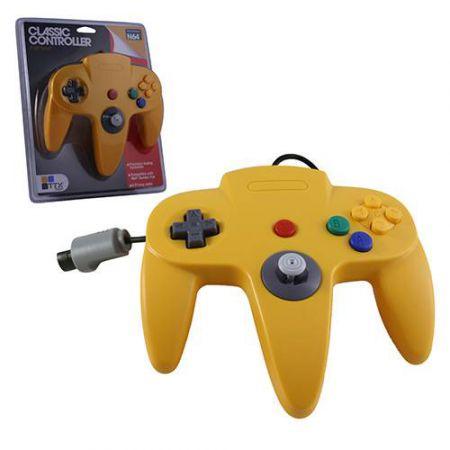 Manette Analogique Jaune Nintendo 64 N64 TTX Tech - NXN64-124