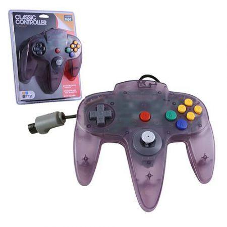 Manette Analogique Violet Translucide Nintendo 64 N64 TTX Tech - NXN64-056