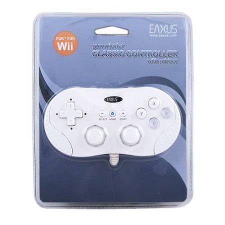 Manette Classique Eaxus Blanche pour Nintendo Wii