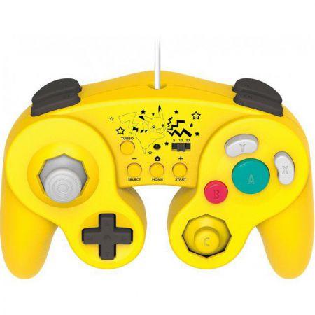 Manette Classique Turbo Nintendo Wii U Hori - PIKACHU Super Smash Bros - WIIU-079U
