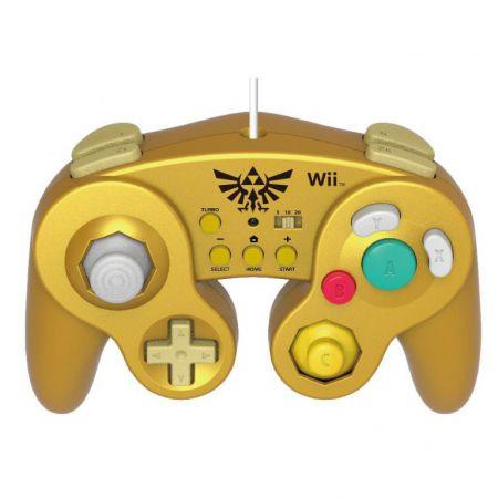 Manette Classique Turbo Nintendo Wii U Hori - ZELDA Super Smash Bros - WIIU-090U