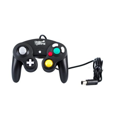 Manette Console Nintendo GameCube & Wii Noire Under Control - AWII0443