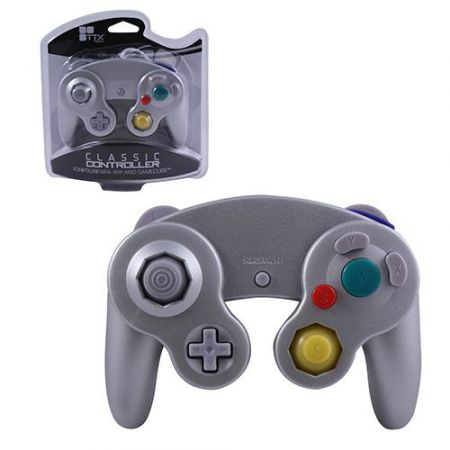 Manette Console Nintendo GameCube & Wii Silver - AGC1247