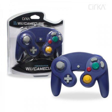Manette pour Console Gamecube & Nintendo Wii - Violette
